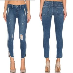 NWT Lovers + Friends Ricky Skinny Panel Jeans